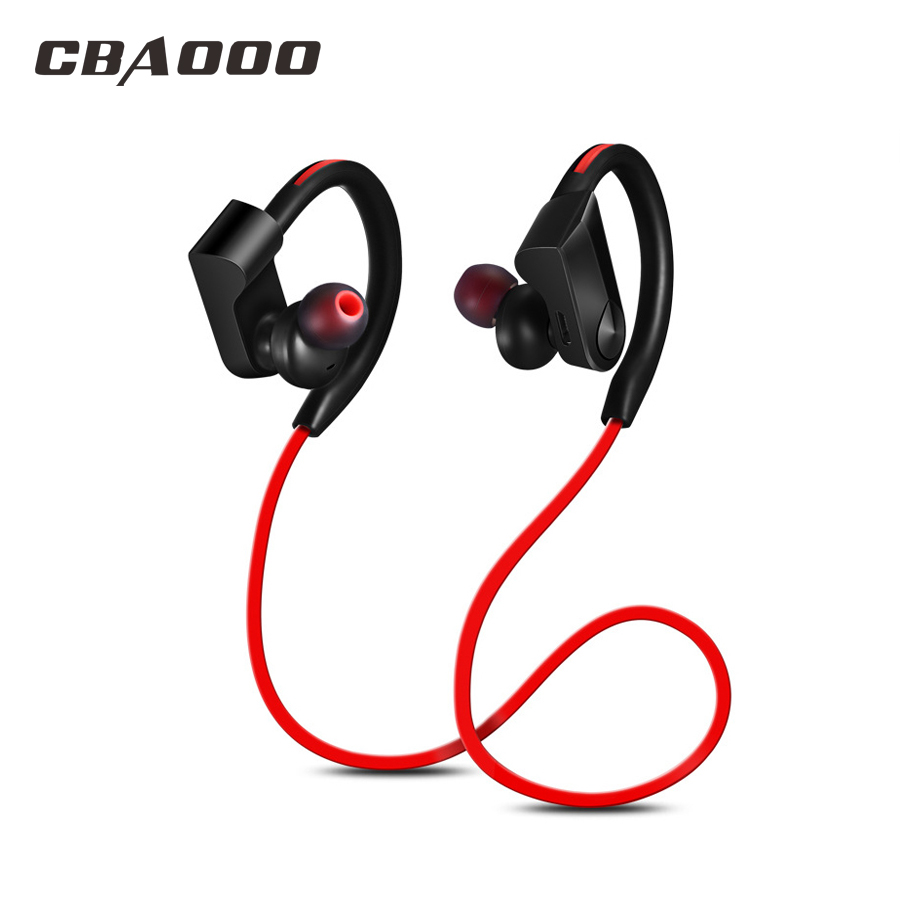 Bluetooth Earphone Headphones Built-in Mic Wireless Blutooth Earphone Headset Water Resistant Sport Earpiece headphones blutooth 4 1 wireless foldable sport earphone microphone headset with tf card slot mp3 player music earphone earpiece