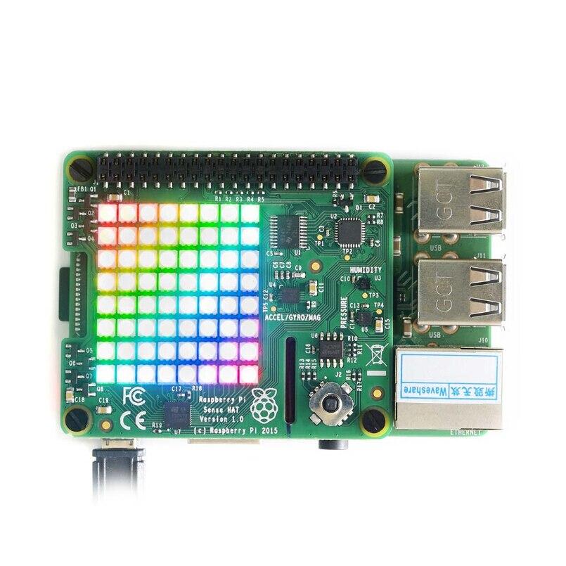Store, Sense, Raspberry, RGB, ShenzhenMaker, Matrix