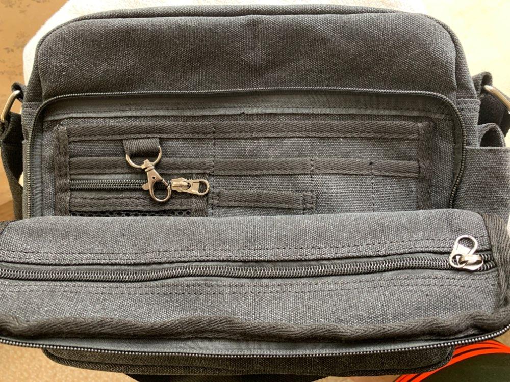 Men Casual Canvas Bag Men's Crossbody Bags For Men Messenger Bag Man Shoulder Bag Bolsa Masculina High Quality Multifunction