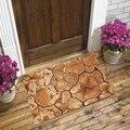 Еще коричневый высушенный треснутый грунт природа 3d Рисунок Противоскользящий Декоративный Напольный коврик для двери домашняя Прихожая ...