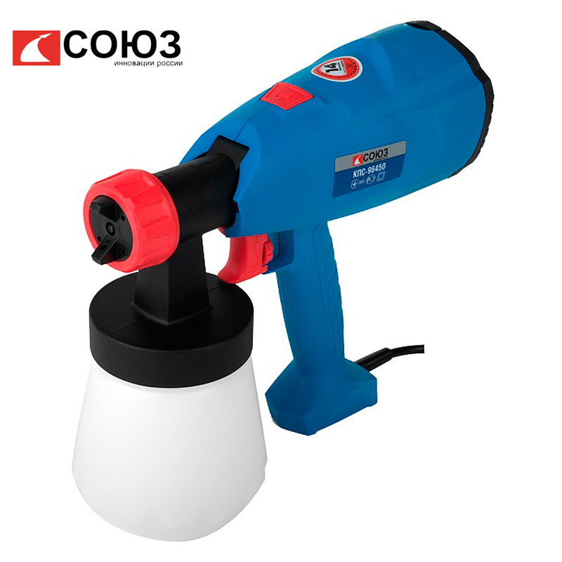 Electric spray gun SOYUZ KPS-96450 electric planer soyuz rus 1086