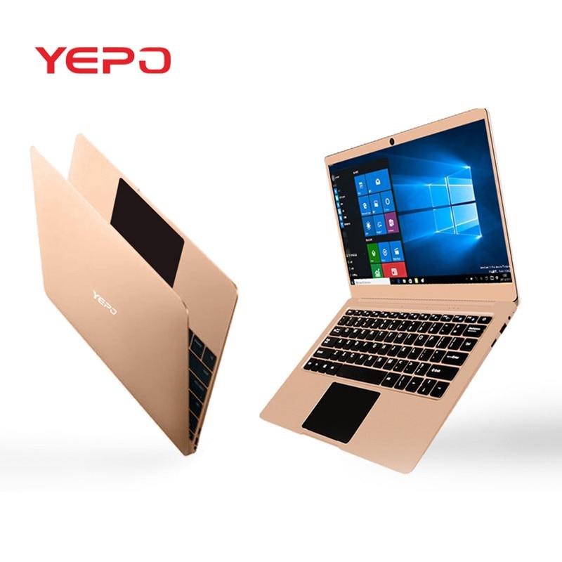 YEPO 737A Laptop WIFI Bluetooth 16:9 Windows 10 USB3.0 1920x1080 Camera 13.3 Inch Intel Celeron N3450 Quad Core 6G RAM 128G