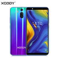 XGODY Mate RS 3G Dual Sim Smartphone 6 Inch 18:9 Smart Android 8.1 Celular Quad Core 1GB+8GB 2800mAh 5MP Camera Mobile Phone GPS