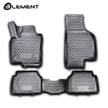 Для Volkswagen Tiguan I 2008-2016 Коврики 3D в салон 4 шт./компл. полиуретан Element NLC3D5121210kh