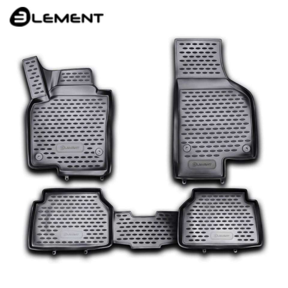 Para Volkswagen Tiguan 2008-2016 3D tapetes em saloon 4 pçs/set Elemento NLC3D5121210kh