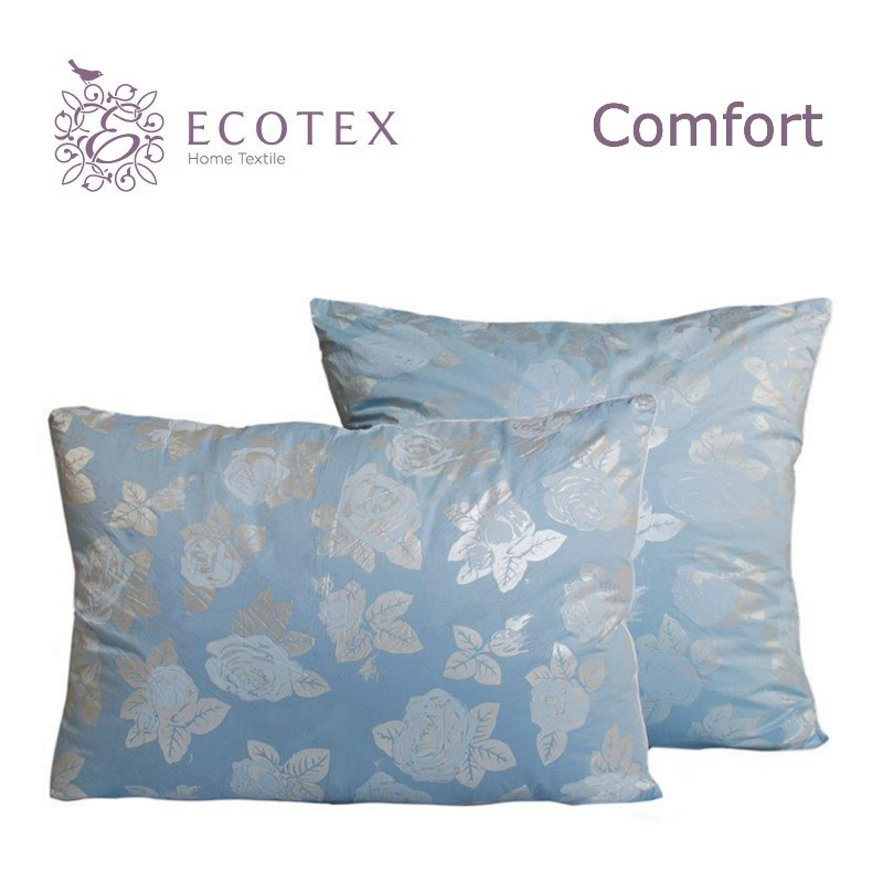 Pillow Alda collection Comfort. Production company Ecotex(Russia). pillow fiber collection comfort production company ecotex russia