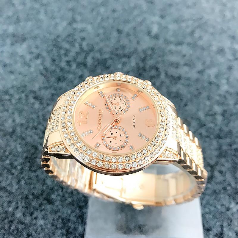 Diamond Bezel Смотреть Watch Luxury Brand - Әйелдер сағаттары - фото 4