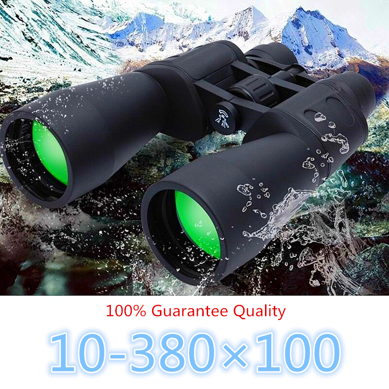 Image 2 - Long Range Zoom 10 80 times Watch Moon Folding Telescope Hunting HD Binoculars Camping Hiking Lll Night Vision Telescope Trip-in Monocular/Binoculars from Sports & Entertainment