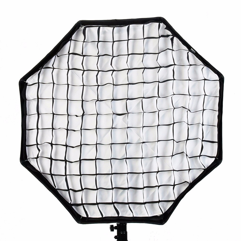 Godox Portable Octagon Softbox 80cm/31.5in Umbrella Brolly Reflector Softbox +Honeycomb Grid for Studio Photo Flash Speedlight