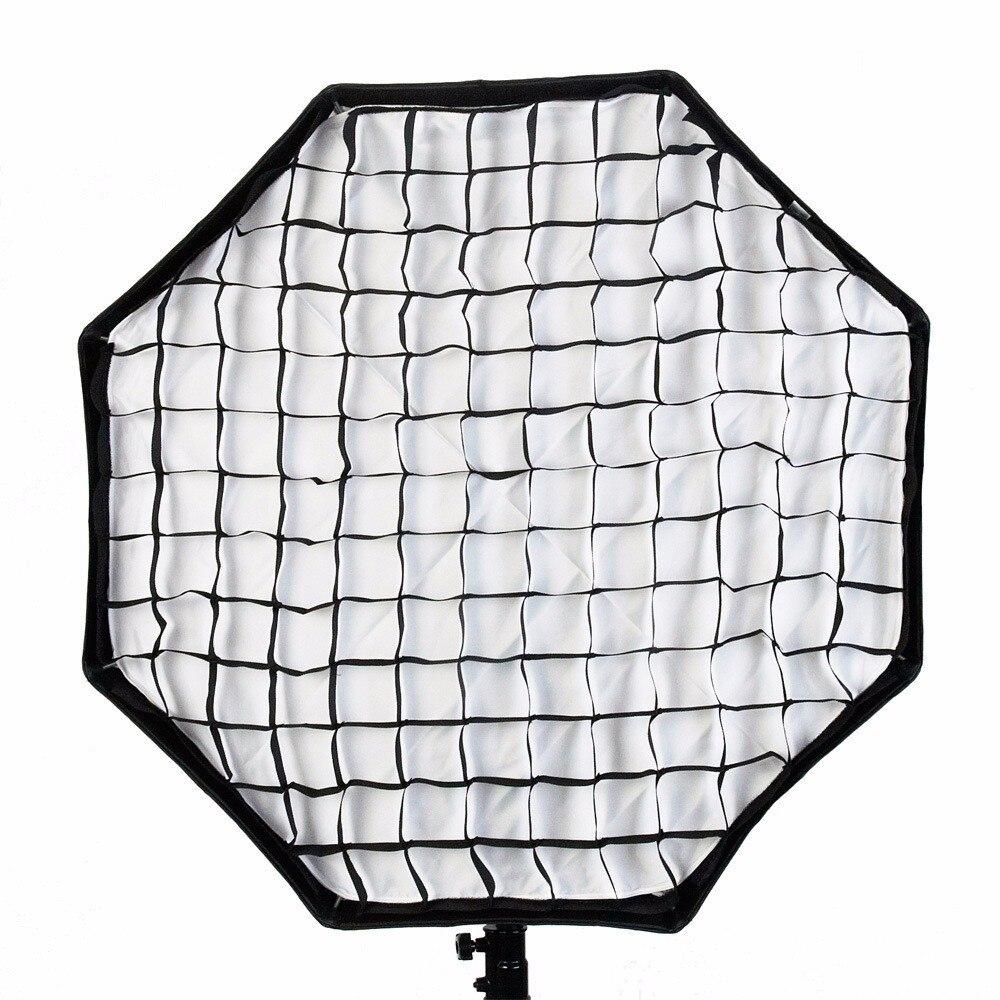 Godox Softbox octogonale Portable 80 cm/31.5in parapluie Brolly réflecteur Softbox + grille nid d'abeille pour Studio Photo Flash Speedlight