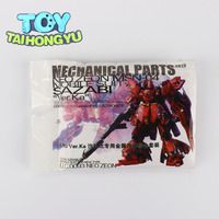 TAIHONGYU Metal New Set Details Up Part For Bandai 1:100 MG Sazabi ver Ka Gundam Assembly Model Kit Toys