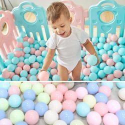 200 шт./лот, Экологичный красочный пластиковый шар, водный бассейн, Океанский волнистый шар, игрушки для снятия стресса, воздушный шар, спорти...