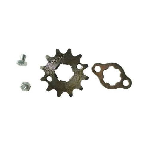420 14T 20mm Front Engine Sprocket For Pit Dirt Bike ATV 125 140 Lifan Loncin YX