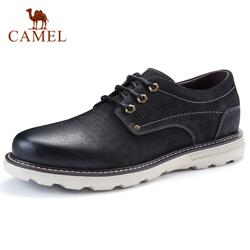 CAMEL Trend New Men Tooling Shoes Men's Fashion Wild Genuine Leather Comfortable Man Casual Shoes