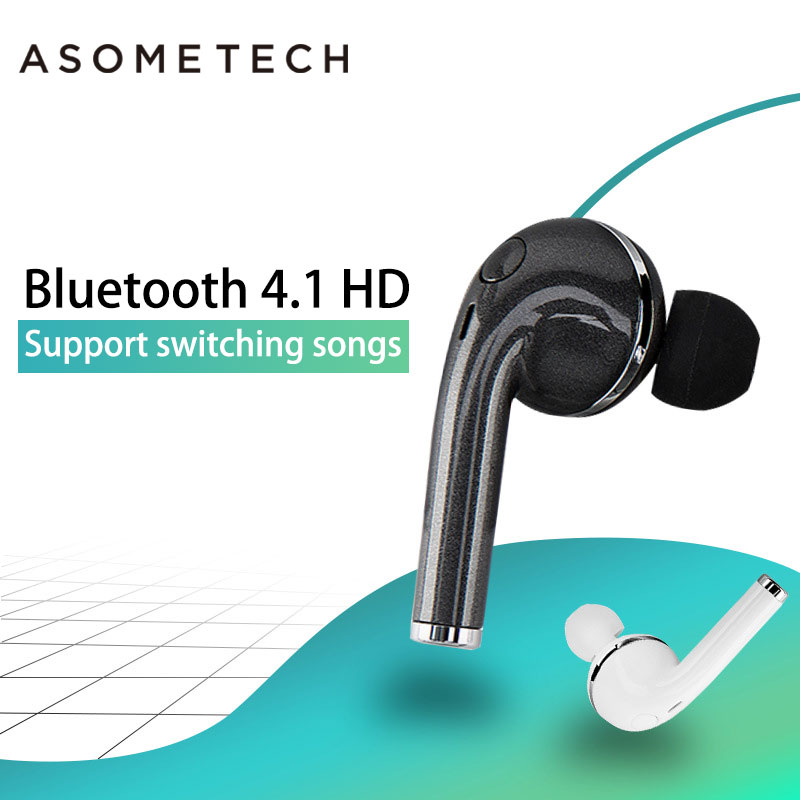 Portable Mini Bluetooth Earphones Wireless Headset For Xiaomi iPhone ONE A1 Earpiece Stereo In-Ear Earplugs With Mic Auriculares