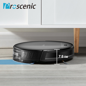 Image 3 - Proscenic 800T Robot Vacuum Cleaner Big Dust Box Water Tank Wet Mopping App Control Auto Charge 1800Pa Suction Robotic Vacuum