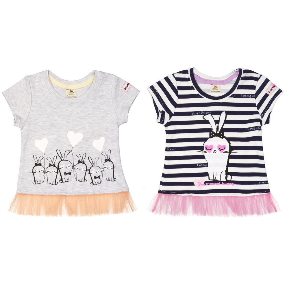 T-Shirts Lucky Child for girls 54-26 T Shirt Children clothes t shirts lucky child for girls 54 12 56 26 shirt children clothes