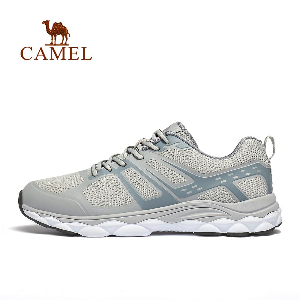 CAMEL Men Running Shoes Comfortable Breathable Outdoor Sports Exercises Sneakers Jogging Chunky Light Weight