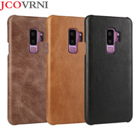 JOVANI 100 Leather Scrub For Galaxy S8 S8plus Back Cover For Galaxy S9 S9Plus Note 8