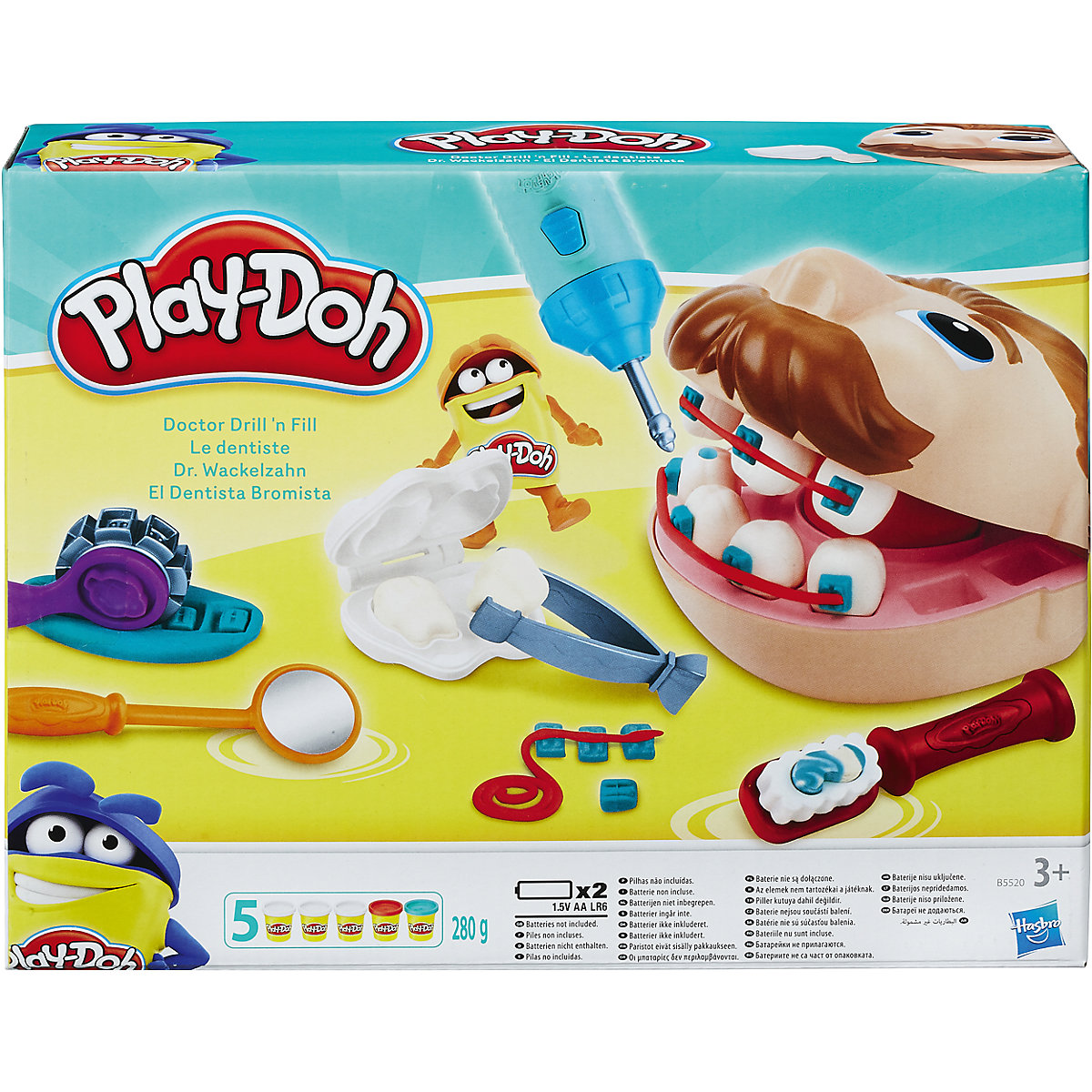 Modeling Clay Slime HASBRO 4678449 Children creative set Toy Toys Game Games Kids Baby boys  Stationery Lizun Play-Doh MTpromo creative stationery box stationery kit stationery box for primary school children and children s children s kindergarten
