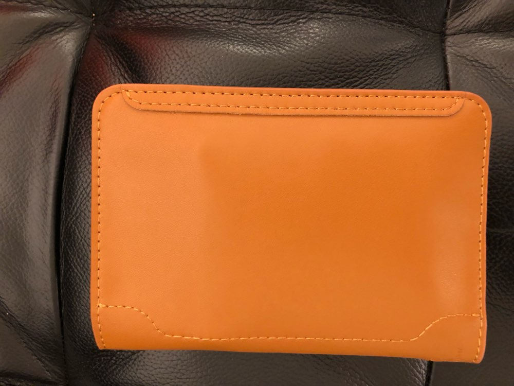 High Quality Genuine Leather Passport Holder Passport Cover photo review
