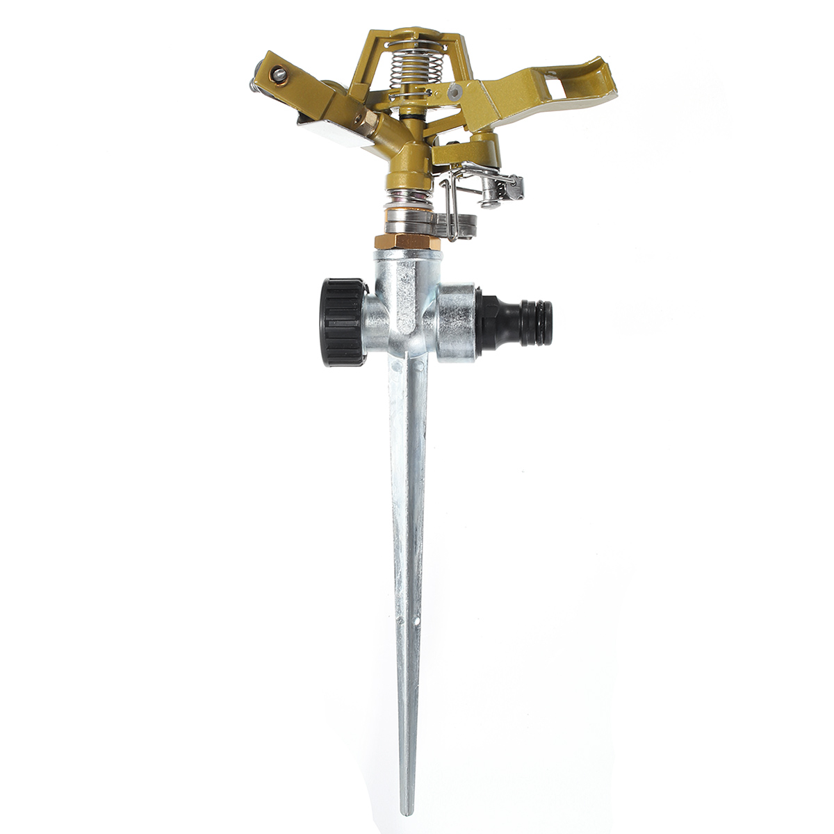 Zinc Alloy 360 Degree Rotary Irrigation Sprayer Sprinkler For Home Garden Yard Lawn Watering Supplies Gardening Tools Device