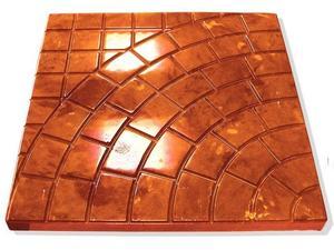 "Plastic Molds for Concrete Paving Slabs Wall Stone Cement Tiles ""Lviv Sidewalk"" Paving Slabs Plastic molds BEST PRICE(China)"