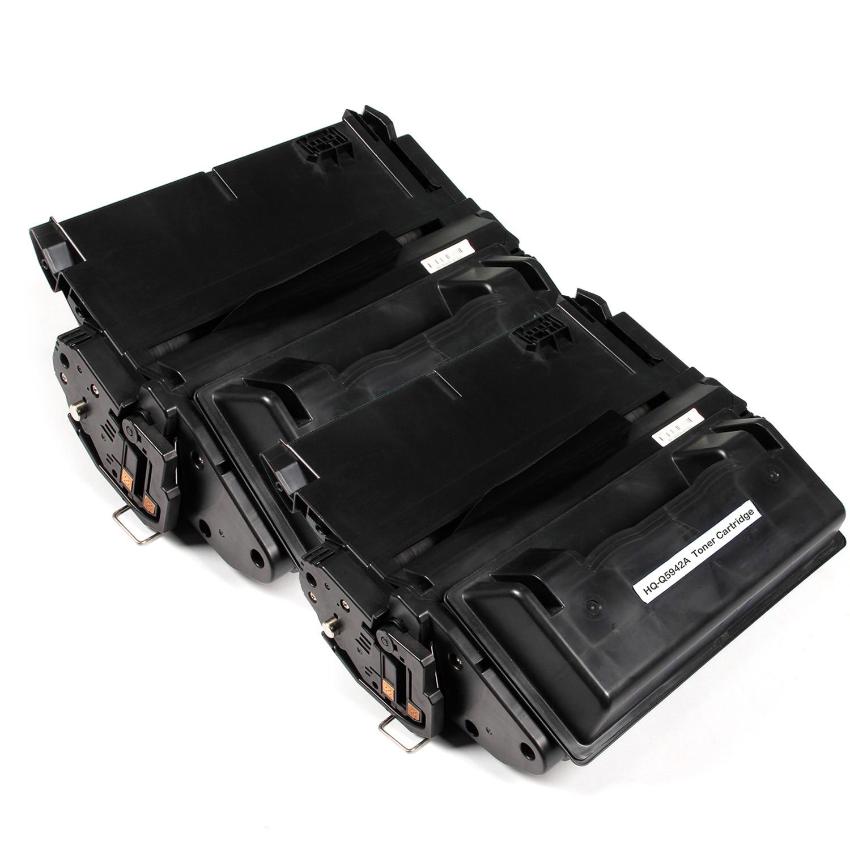 2 stücke kompatible tonerkartuschen für hp hq-q5942a 1338a 1339a 4200 4240n 4250...