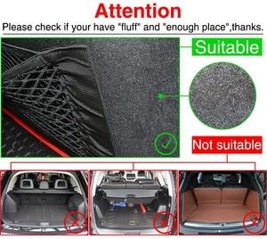 Image 5 - Car Trunk Nylon Rope Net / luggage net with backing For Volkswagen VW GOLF 5 6 7 GTI TIGUAN PASSAT B5 B6 B8 JETTA MK5 MK6 POLO