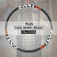 29er MTB Light плюс шириной 50 мм велосипедные покрышки из углеволокна M i45