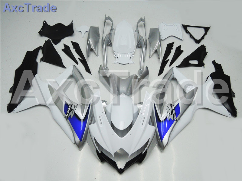 Motorcycle Fairings For Suzuki GSXR GSX-R 600 750 GSXR600 GSXR750 2008 2009 2010 K8 ABS Plastic Injection Fairing Bodywok Kit fairing bolts full screw kit for suzuki gsxr600 gsxr 600 gsx r600 600 gsx r600 k8 08 09 10 2008 2009 2010 9e148 nuts bolt screws