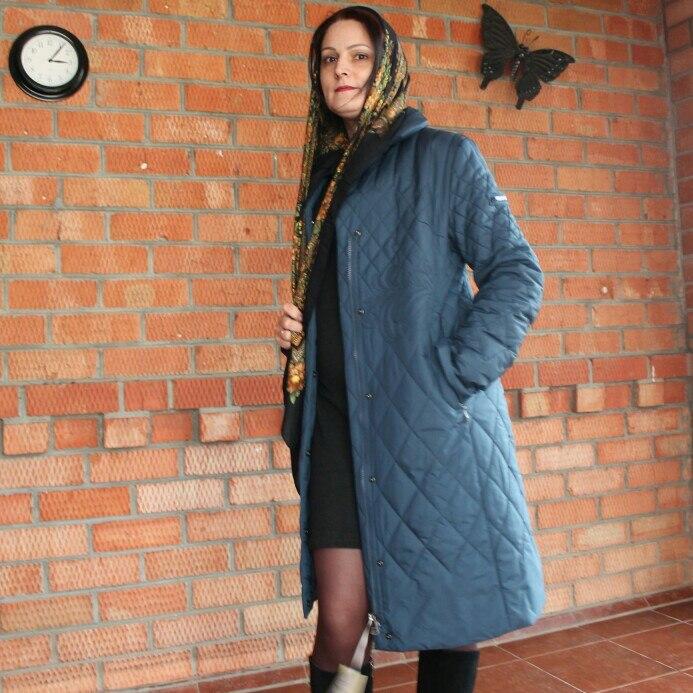 Весна Для женщин парк пальто теплая куртка Для женщин тонкие хлопковые стеганые пальто с стоячим воротником Новая коллекция дизайнера miegofce