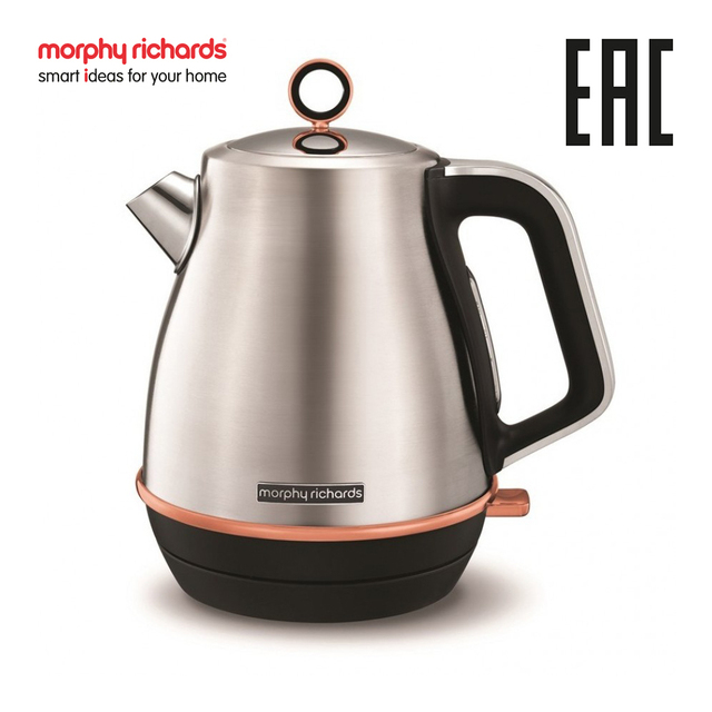 Электрический чайник Morphy Richards Evoke Rose Gold Brushed 104416
