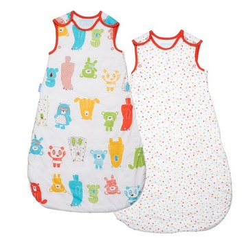 The Gro Company Spotty Bear Wash & Wear Twin Pack 2.5 Tog  0-6 /6-18 /18-36 Months