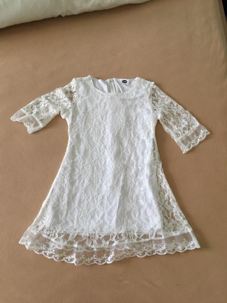 Vestidos Grande Branco Meninas