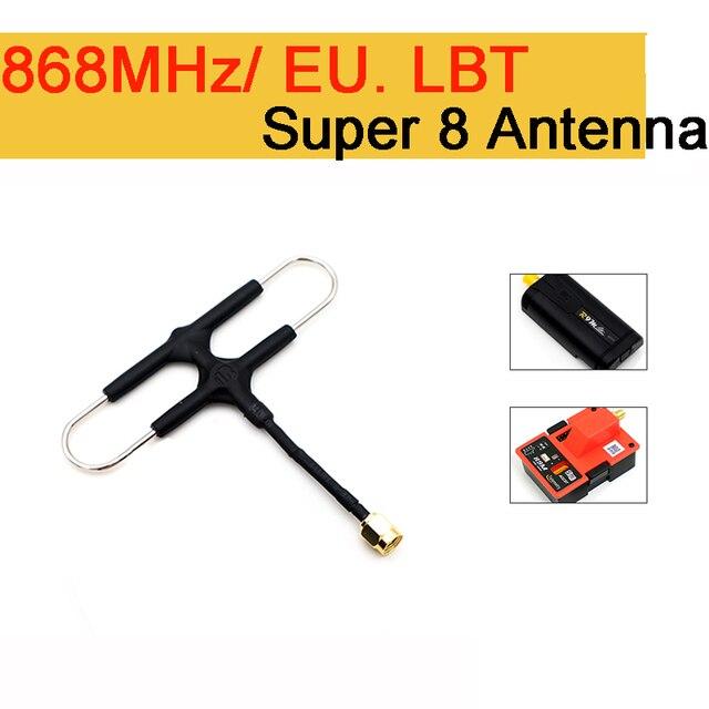 FrSky 868 Mhz ue wersja Super 8 antena dla R9M/R9M Lite moduł 900 mhz dalekiego zasięgu z diamentowymi antena