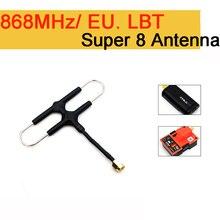 FrSky 868 mhz האיחוד האירופי גרסת סופר 8 אנטנה עבור R9M/R9M לייט מודול 900 mhz ארוך טווח מערכת יהלומים אנטנה