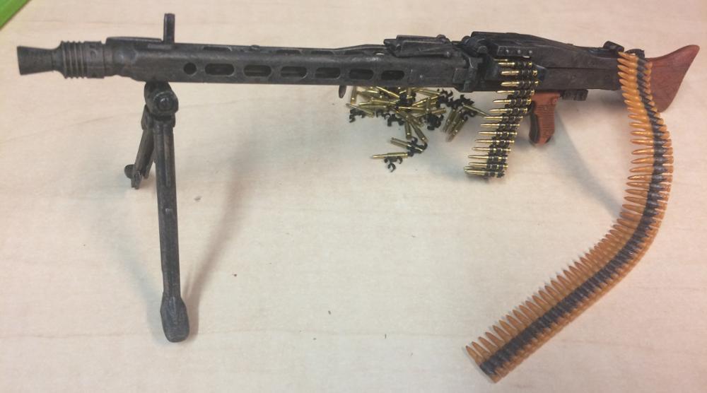 "1:6 FIGURE 12/"" WW2 Soviet Shell 7.62 x 25 Ammo 50 pc Custom made accessories"