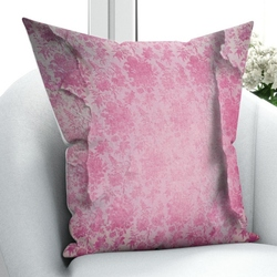 Innego fioletowy Vintage wzory roślinne kwiaty starzenia się natura 3D wzór drukuj rzuć poszewka na poduszkę poduszka kwadratowa ukryty zamek błyskawiczny 45x45 cm w Poszewka na poduszkę od Dom i ogród na
