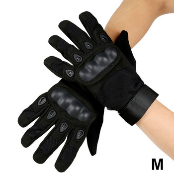 Army Military Tactical Gloves Paintball Airsoft Shooting Combat Anti-Skid Bicycle Hard Knuckle Full Finger Gloves 2