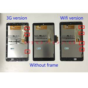 Digitizer-Screen Lcd-Display ME370T Nexus7c Google Touch with Frame for 3G Wifi-Version