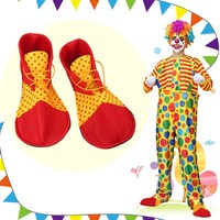 Colorful Halloween Cosplay Shoes Clown Performance Props Clown Shoes Christmas Costume Party Clothes Dress Decoration Favor