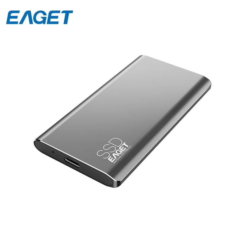 Portable SSD Hard Drive Eaget M1 128 GB ssk she066 f 2 5 sata external enclosure mobile storage solution hard drive case