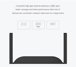 Image 5 - Xiaomi Pro 300M WiFi Amplifier WiFi Repeater 2.4G Wifi Signal Extender Roteador APP Control Wifi Extender Amplificador Black