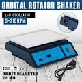 Лабораторный осциллятор орбитальный ротатор шейкер Регулируемый DESTAINING переменная скорость