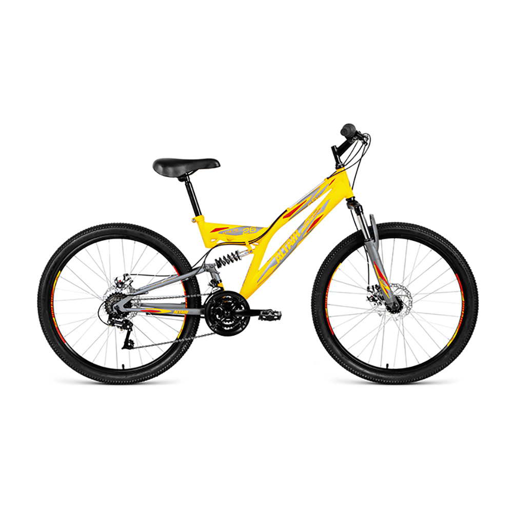 Bicycle ALTAIR MTB FS 26 2.0 disc (26 18 IC. Height 16 ) 2018-2019 цена