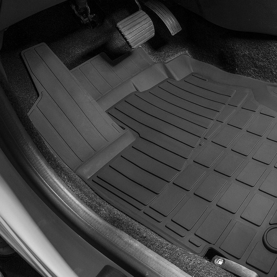For Renault Kaptur 2016-2019 rubber floor mats into saloon 5 pcs/set Rival 64707001 for renault duster 4wd 2010 2014 rubber floor mats into saloon 5 pcs set rival 64701002