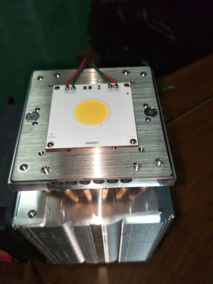 MARSWALLED 12pcs Copper Tipe Aluminum Heatpipe Radiator Cooling Heatsink For 200W/300W/500W COB LED Or 150W+150W/300W+300W COB