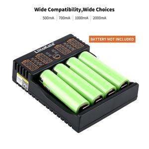 Image 3 - LiitoKala Lii 402 18650 Battery Charger For 26650 16340 RCR123 14500  LiFePO4 1.2V Ni MH Ni Cd Rechareable Battery lii402