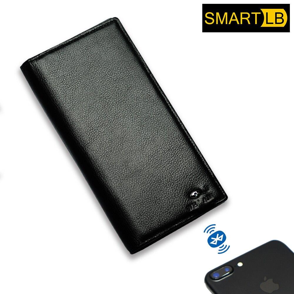 Full Grain Cow Gps Leather Wallet , Smart Wallet For Men,Smart wallet tracker